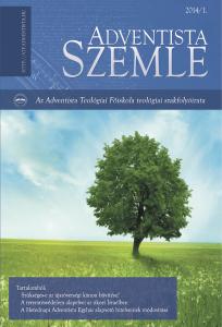 Adventista Szemle – 2014/1 szám