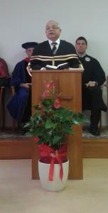 Rektori beszéd