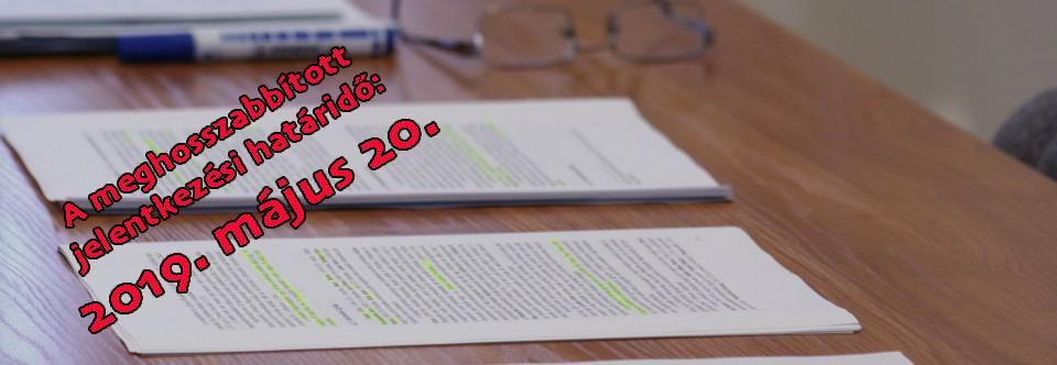 FELVÉTELI TÁJÉKOZTATÓ a 2019/2020-es tanévre